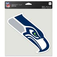 "Seattle Seahawks Full Color Die Cut Decal - 8"" X 8"""