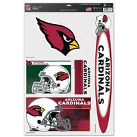 Arizona Cardinals Ultra Decal Set - 11'' X 17''
