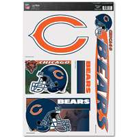 Chicago Bears Ultra Decal Set - 11'' X 17''