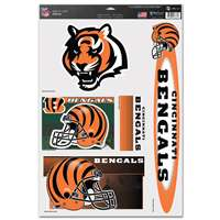 Cincinnati Bengals Ultra Decal Set - 11'' X 17''