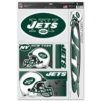 New York Jets Ultra Decal Set - 11'' X 17''