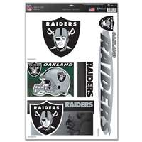 Oakland Raiders Ultra Decal Set - 11'' X 17''