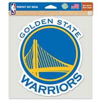 "Golden State Warriors Full Color Die Cut Decal - 8"" X 8"""