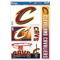 Cleveland Cavaliers Ultra Decal Set - 11'' X 17''