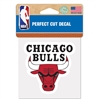 "Chicago Bulls Die Cut Decal - 4"" x 4"""