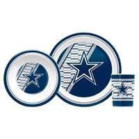 Dallas Cowboys Little Sport's Dish Set