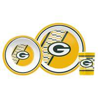 Green Bay Packers Little Sport's Dish Set