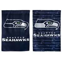"Seattle Seahawks Suede Flag - 29"" x 43"""