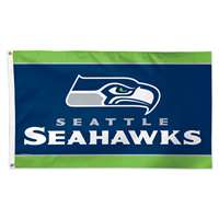 Seattle Seahawks Deluxe 3' x 5' Flag