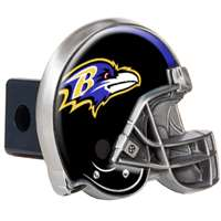 Baltimore Ravens NFL Trailer Hitch Receiver Cover - Helmet