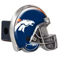Denver Broncos NFL Trailer Hitch Receiver Cover - Helmet