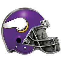Minnesota Vikings NFL Trailer Hitch Receiver Cover - Helmet