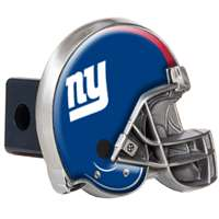 New York Giants NFL Trailer Hitch Receiver Cover - Helmet