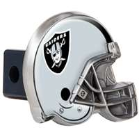 Oakland Raiders NFL Trailer Hitch Receiver Cover - Helmet