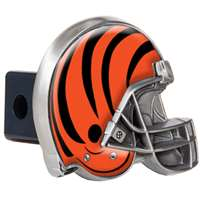 Cincinnati Bengals NFL Trailer Hitch Receiver Cover - Helmet