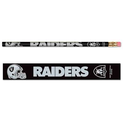 Oakland Raiders Pencil - 6-pack