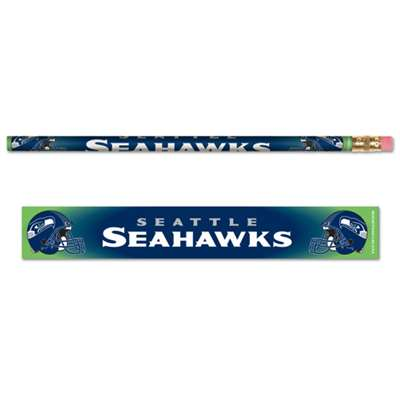 Seattle Seahawks Pencil - 6-pack