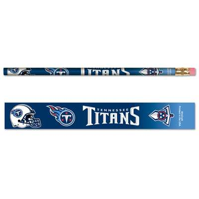 Tennessee Titans Pencil - 6-pack