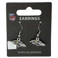 Baltimore Ravens Dangler Earrings