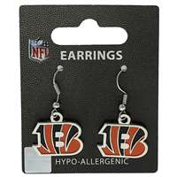 Cincinnati Bengals Dangler Earrings