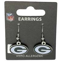 Green Bay Packers Dangler Earrings