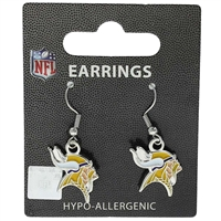 Minnesota Vikings Dangler Earrings