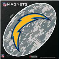 Los Angeles Chargers Oval Magnet