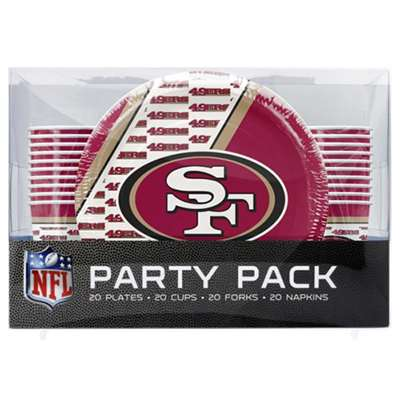 San Francisco 49ers Party Pack