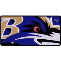 Baltimore Ravens Full Color Mega Inlay License Plate