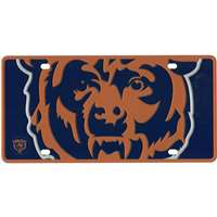 Chicago Bears Full Color Mega Inlay License Plate