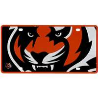 Cincinnati Bengals Full Color Mega Inlay License Plate
