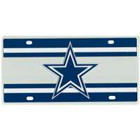 Dallas Cowboys Full Color Super Stripe Inlay License Plate