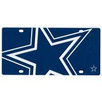 Dallas Cowboys Full Color Mega Inlay License Plate