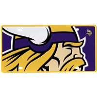 Minnesota Vikings Full Color Mega Inlay License Plate