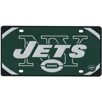 New York Jets Full Color Mega Inlay License Plate