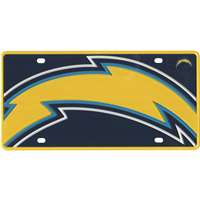 San Diego Chargers Full Color Mega Inlay License Plate