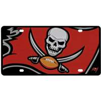 Tampa Bay Buccaneers Full Color Mega Inlay License Plate