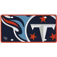 Tennessee Titans Full Color Mega Inlay License Plate