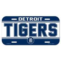 Detroit Tigers Plastic License Plate