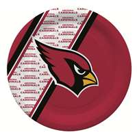 Arizona Cardinals Disposable Paper Plates - 20 Pack