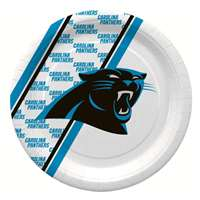 Carolina Panthers Disposable Paper Plates - 20 Pack