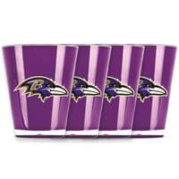 Baltimore Ravens Shot Glass - 4 Pack