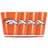 Denver Broncos Shot Glass - 4 Pack
