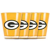 Green Bay Packers Shot Glass - 4 Pack