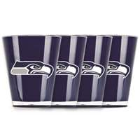 Seattle Seahawks Shot Glass - 4 Pack