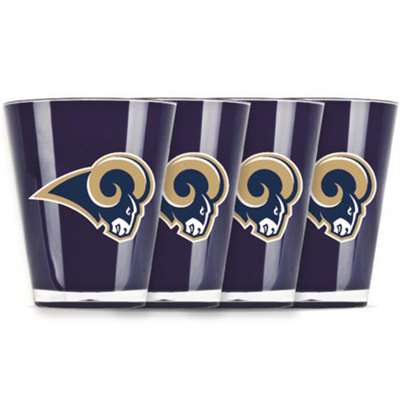 St. Louis Rams Shot Glass - 4 Pack