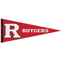 "Rutgers Scarlet Knights Premium Pennant - 12"" X 30"""