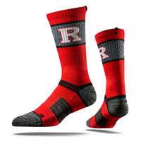 Rutgers Scarlet Knights Strideline Strapped Fit 2.0 Socks -Scarlet Knight