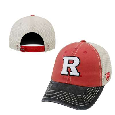 cbfaf840e5a ... closeout rutgers scarlet knights top of the world offroad trucker hat  a458a bbf54