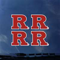 Rutgers Scarlet Knights Transfer Decals - Set of 4